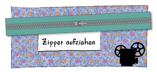 Zipper aufziehen, Enlsoreißverschluss, reißverschluss meterware