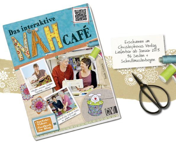 Das interaktive Nähcafé, Nähbuch, Nähanleitungen, Schnittmuster, Jacke nähen, Tasche nähen