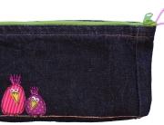 Mäppchen, Tasche, Jeans Recycling, Nähanleitung Gratis, kostenlos