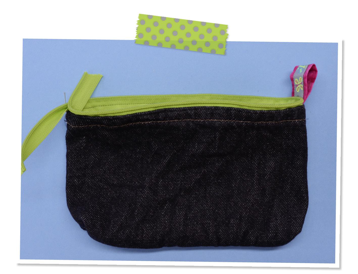 Mäppchen, Tasche, Jeans Recycling, Nähanleitung Gratis, kostenlos, Upcycling, Nähzimmer, Nähkurs
