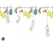 Weihnachtsgrüße Elchvideo Nähzimmer Nähanleitungen