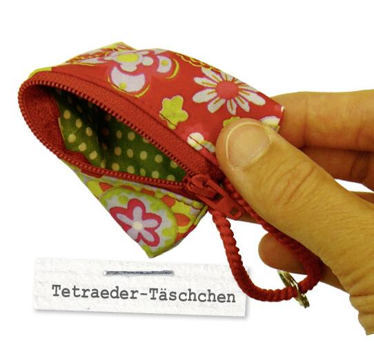 Tetraeder-Täschchen, TAsche, kostenlose Anleitung, Gratis-Anleitung, Nähzimmer