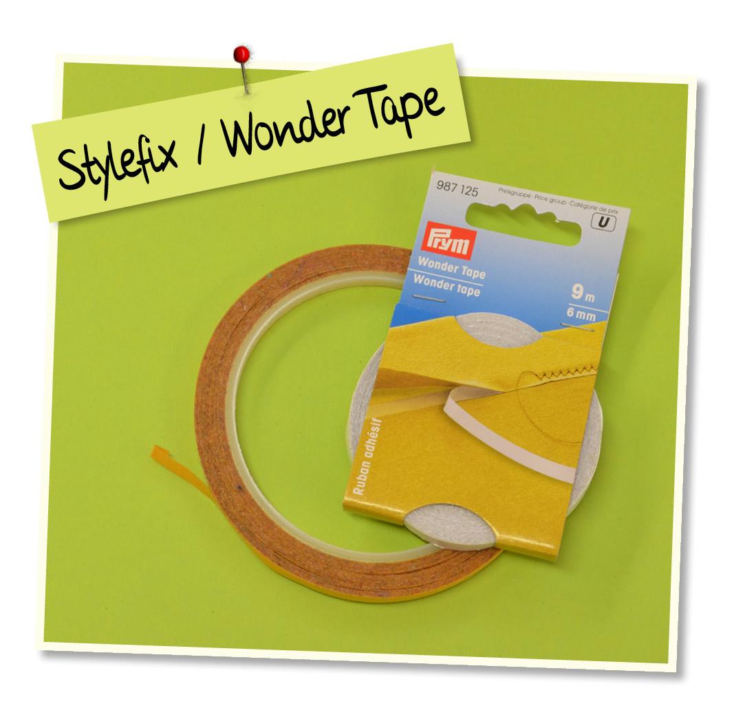 Nählexikon, Nähen, Nähzimmer, Nähen für Anfänger, Gratisanleitung, Stylefix, Wonder-Tape