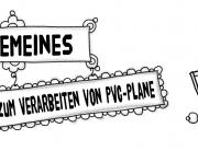 PVC-Plane nähen, Tipps, Wachstuch nähen