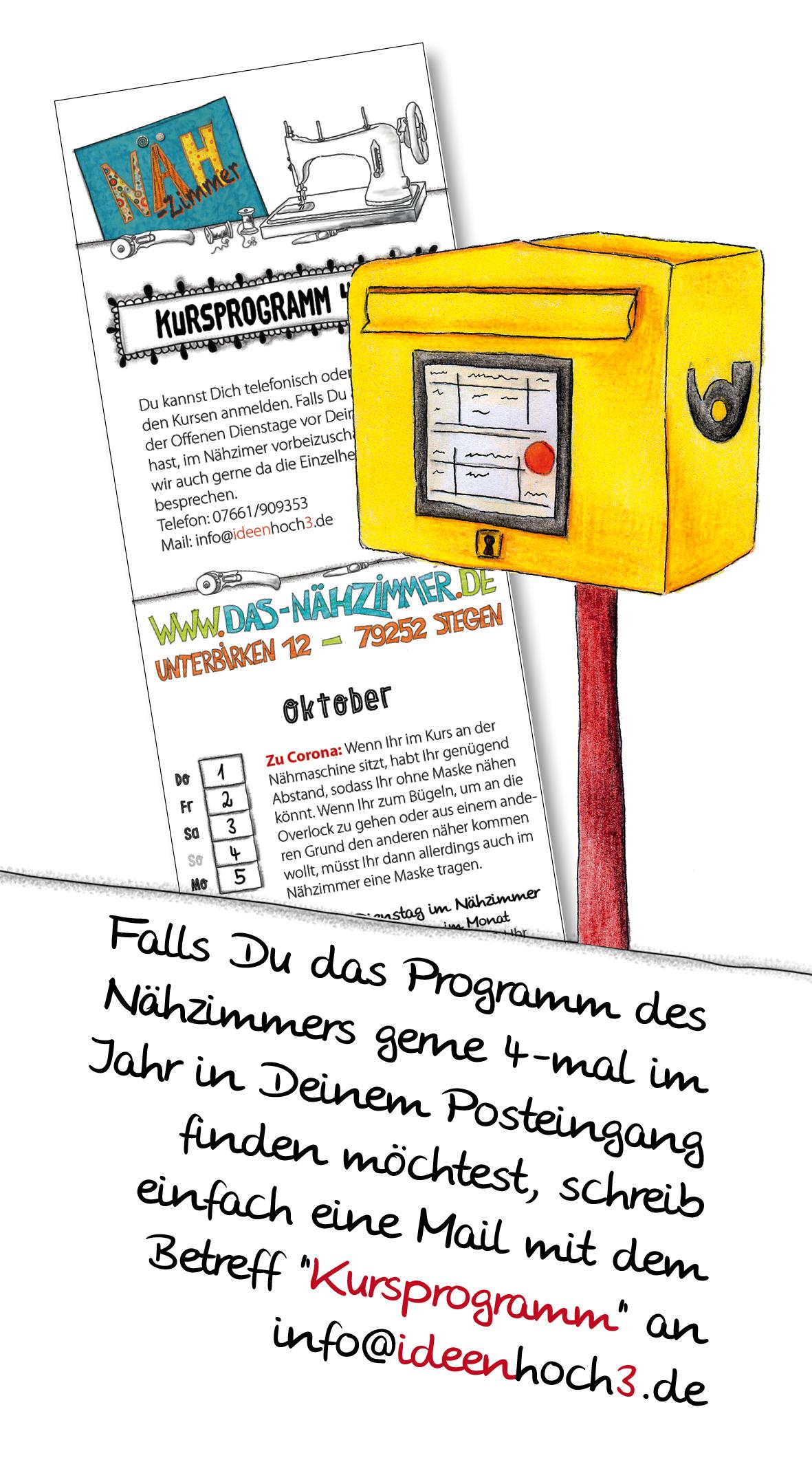 Das-Nähzimmer, Nähkurse, Freiburg, Dreisamtal, Nähkurs für Anfänger, Nähkurs für Kinder